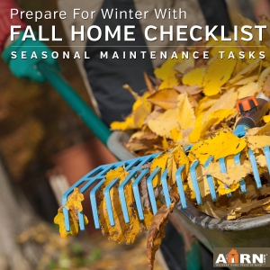 Fall Seasonal Maintenance Checklist with AHRN.com