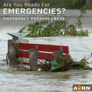 Are you prepared for an emergency? with AHRN.com