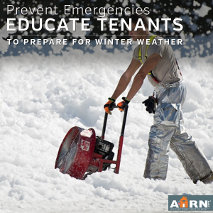 Educate your tenants about winterization with AHRN.com