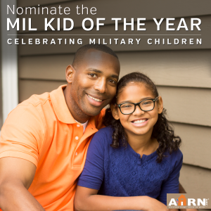 Nominate the Military Child Of The Year for 2016 with AHRN.com