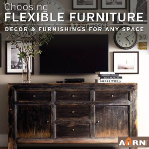 Choosing flexible furniture that will last through your PCS with AHRN.com