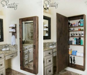 Fab Art DIY Mirror Cabinet