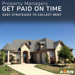 Property Managers, get paid on time with AHRN.com