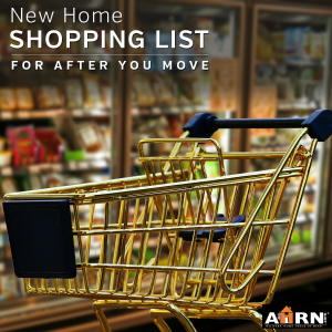 New Home Shopping List to set up your new home after your PCS with AHRN.com