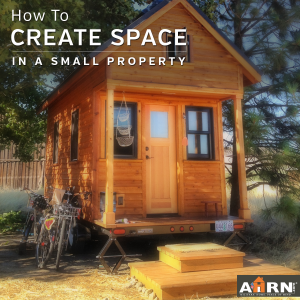 How to create space in a small property when you're renting/selling with AHRN.com