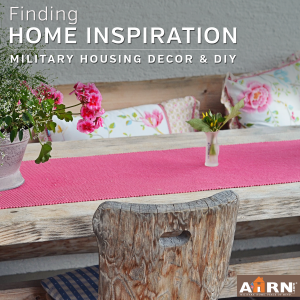Where to find military housing decor inspiration with AHRN.com