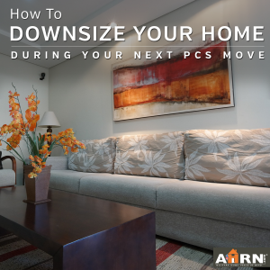 How to Downsize to a Smaller Home When You PCS