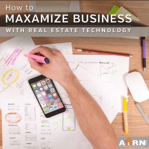 How to maxamize your real estate business with technology on AHRN.com!