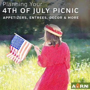 Hot dogs, burgers, potato salad, chips, watermelon and pie are staples of any 4th of July weekend meal, and AHRN.com has some great recipe twists along with ideas to jazz up your décor.