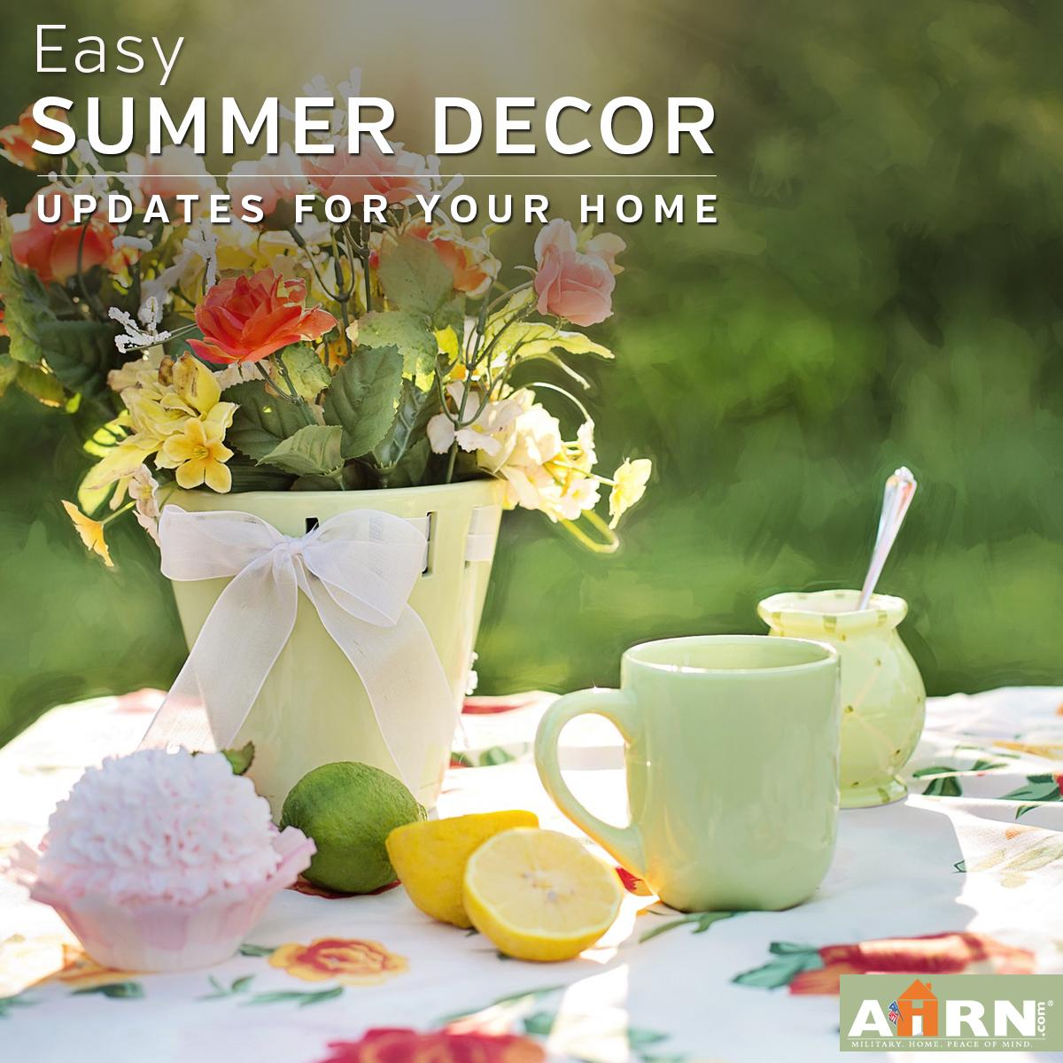 Easy Breezy Summer Decor