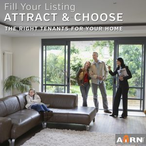 Attract and Choose the right tenants with AHRN.com