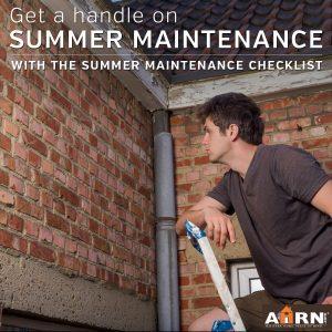 Landlord Summer Maintenance Checklist with AHRN.com
