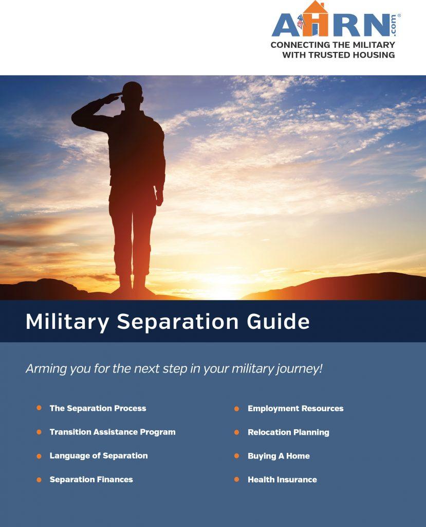 2016 AHRN.com Military Separation Guide
