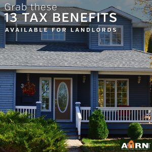 13 Tax Benefits of Being a Landlord