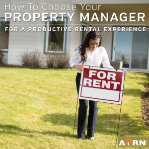 Choose the right Property Manager for military landlords on AHRN.com