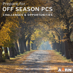 Prepare for an off season PCS with AHRN.com