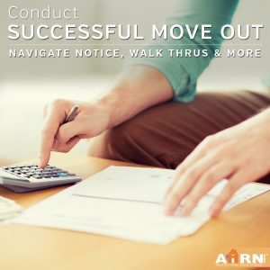 Successful Move Outs on AHRN.com