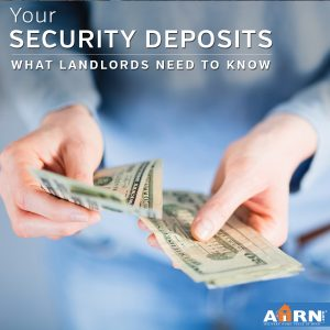 What landlords need to know about security deposits on AHRN.com
