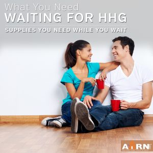 When You're Waiting For Your HHG