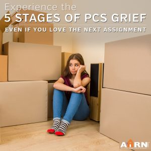 5 Stages of PCS Grief on AHRN.com