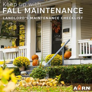 Fall Maintenance Checklist for Property Managers
