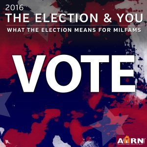 2016 election & it's impact on military families with AHRN.com