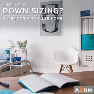 6 Tips for Downsizing To a Smaller Home