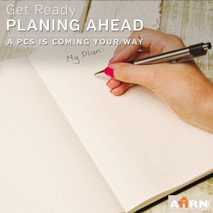 Planning Ahead: A PCS Is Coming