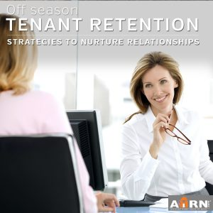 Off season tenant retention strategies with AHRN.com