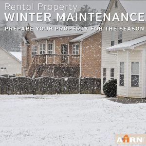 Winter Maintenance for your rental property