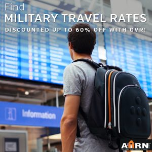 Find discounted military travel rates with GVR & AHRN.com