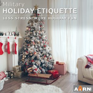 Military Holiday Etiquette on AHRN.com