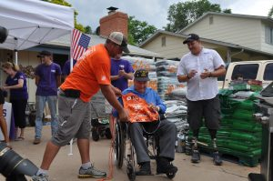 Older vets get renovation help from credit unions, Purple Heart Homes campaign