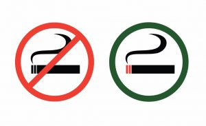 no-smoking-and-smoke-zone-vector-id162332425