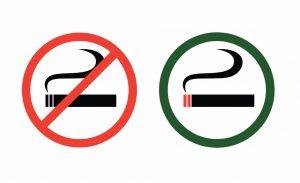 no-smoking-and-smoke-zone-vector-id162332425