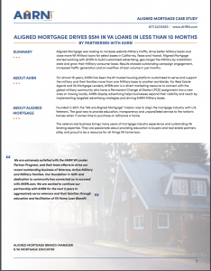 Aligned Mortgage Case Study