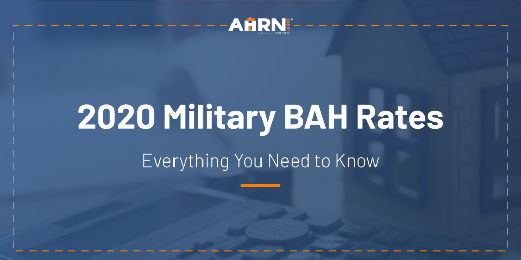 Hero Image: 2020 Military BAH Rates