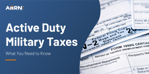 Hero image: Active Duty Military Taxes: What You Need to Know