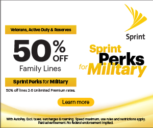 Military Appreciation Month - Sprint