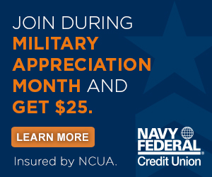 Military Appreciation Month 2020 - Navy Federal Credit Union