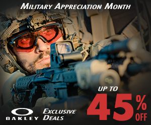 Military Appreciation Month 2020 - Oakley SI