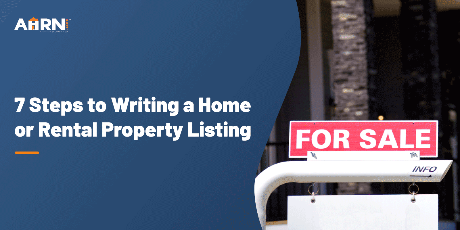 writing a Home or Rental Property Listing