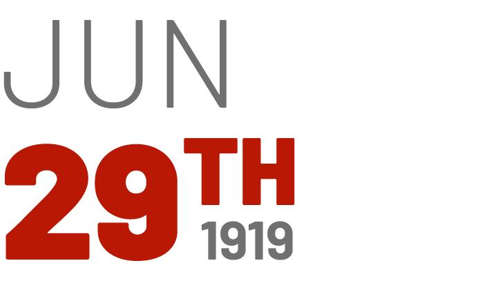 Jun 29th, 1919