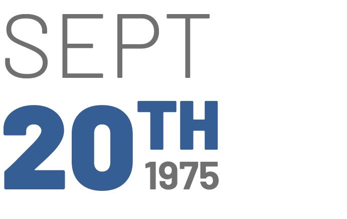 September 20th, 1975