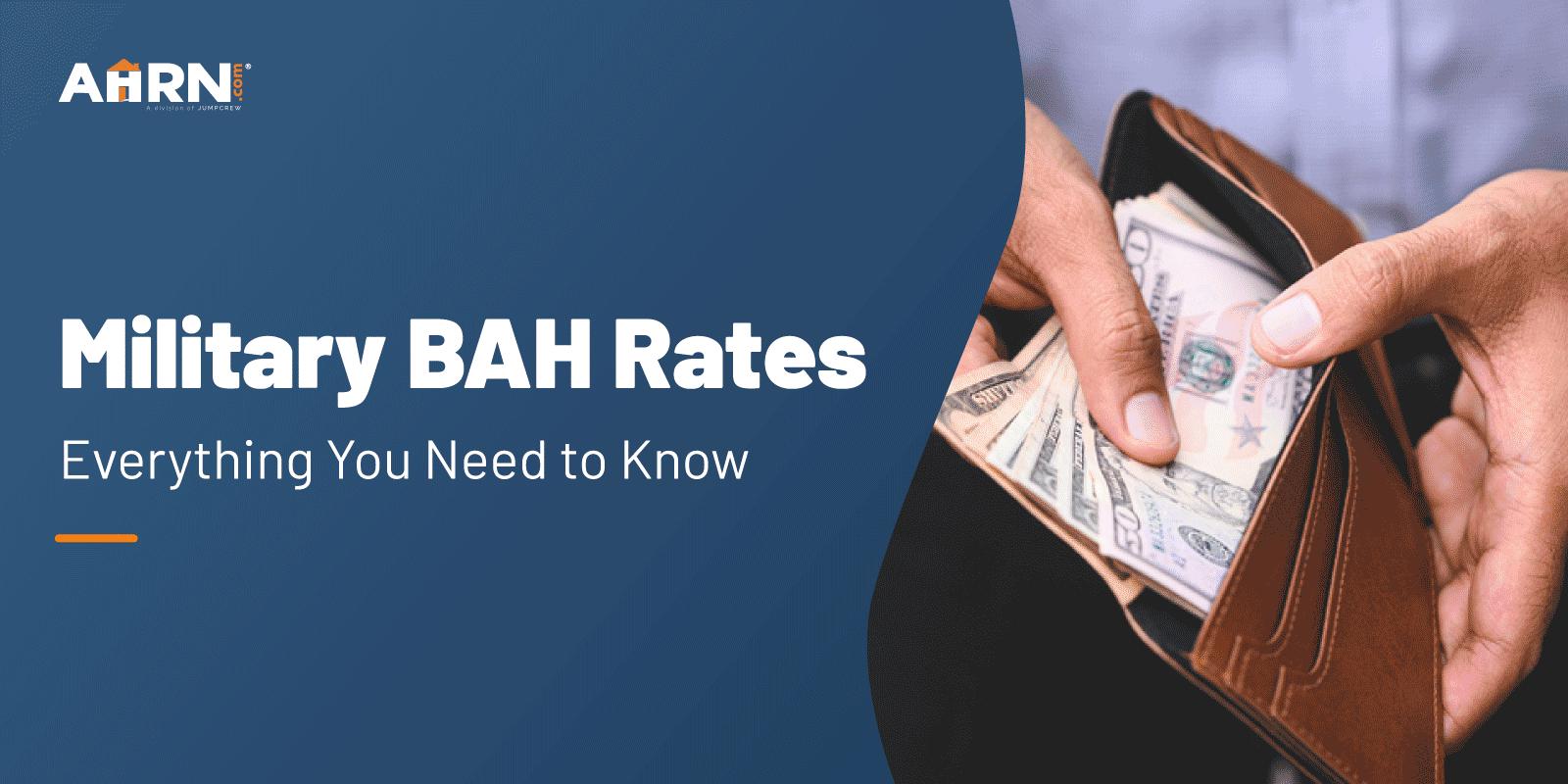 Military BAH Rates