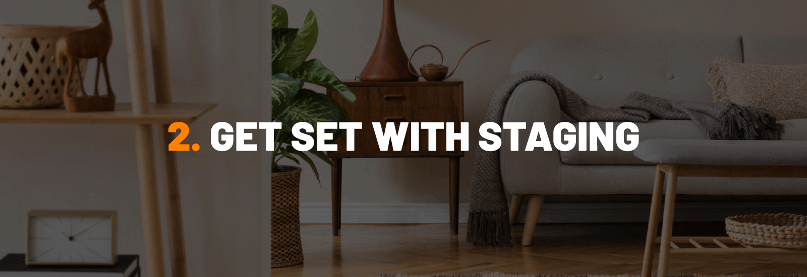 #2 Tip For Better iPhone Real Estate Photos - Get Set With Staging