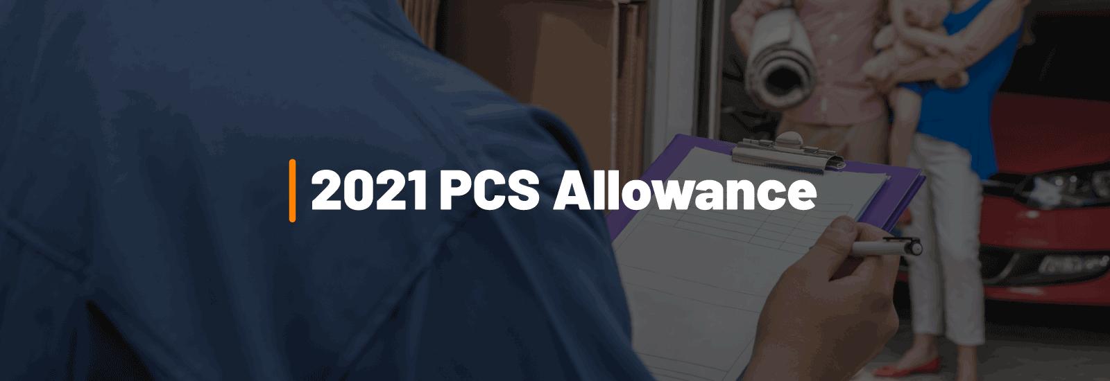 2021 PCS Allowance