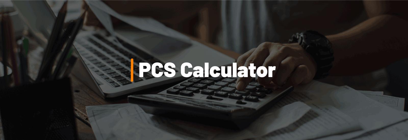PCS Calculator