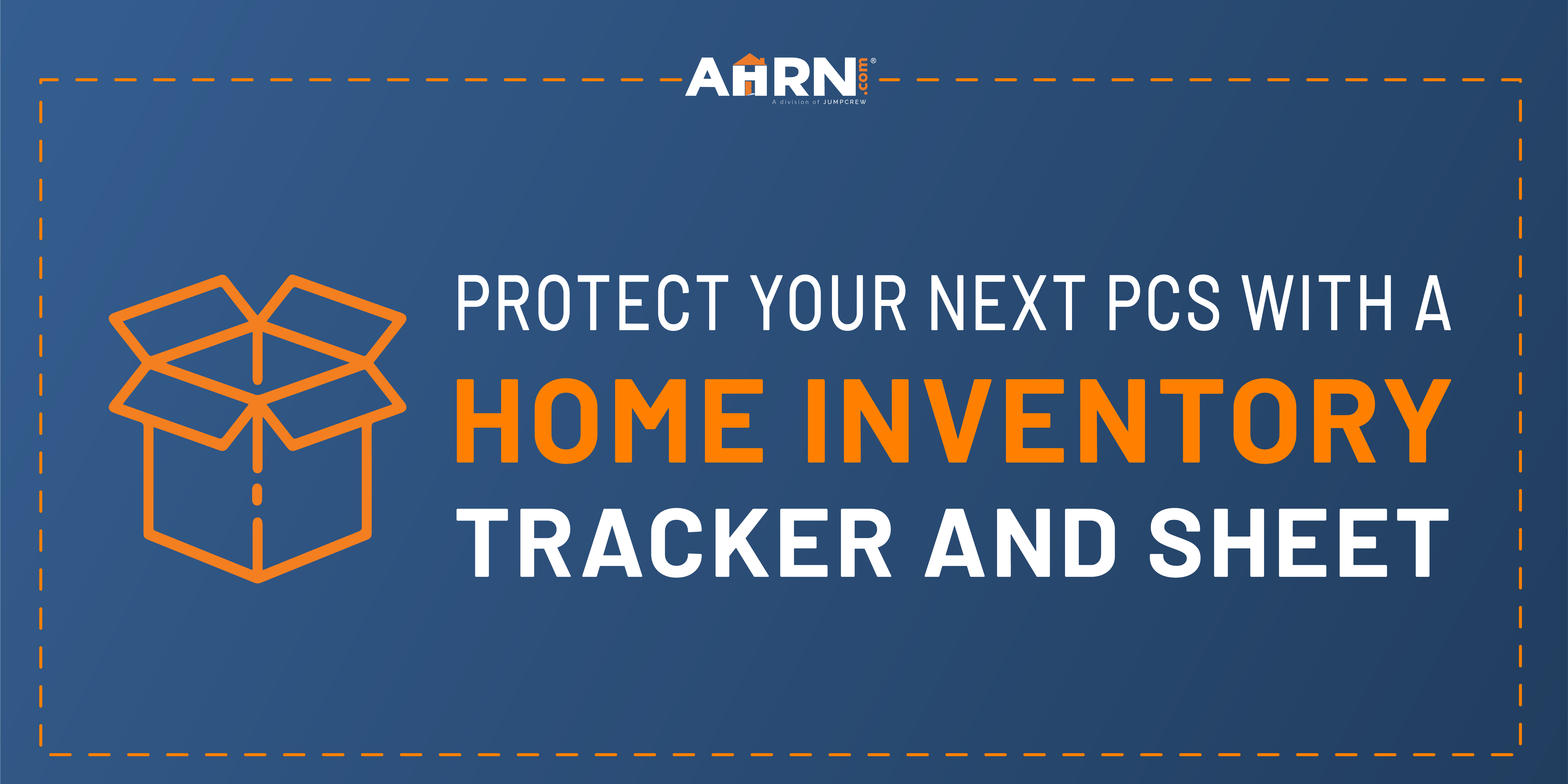 No PCS Checklist is Complete Without the Protection of a Home Inventory!