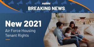 NEW 2021 Air Force Housing Tenant Rights - What You Need to Know!